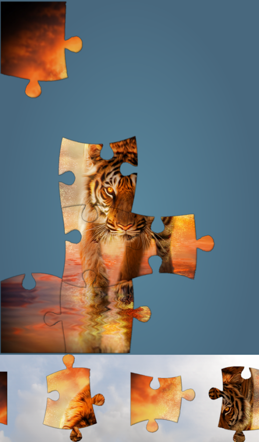 Live Jigsaws - Illusions- screenshot