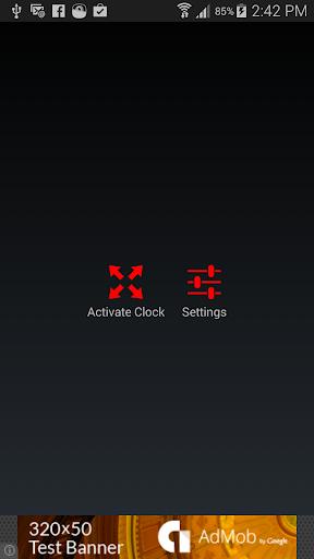 Tick Night Clock