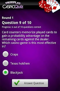 FreePlay Casino Quiz- screenshot thumbnail