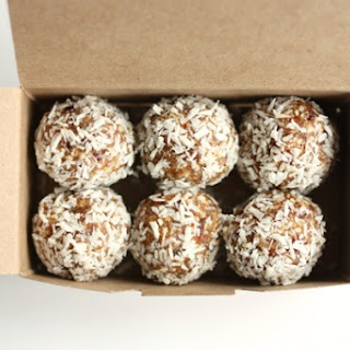 Cashew, Mesquite and Coconut Truffles.
