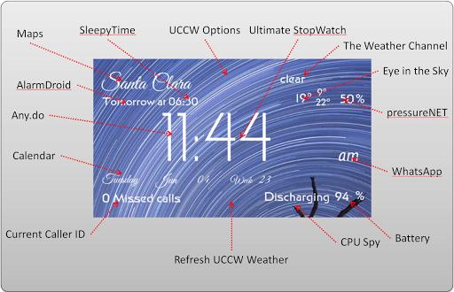【免費個人化App】UCCW - TextDashBoard Free-APP點子