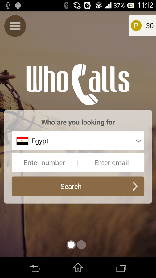 Who calls - Phone Directory - screenshot
