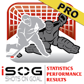 iSOG PRO Goalie & Player Stats