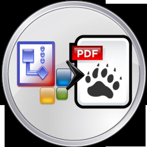 Visio to PDF Converter LOGO-APP點子