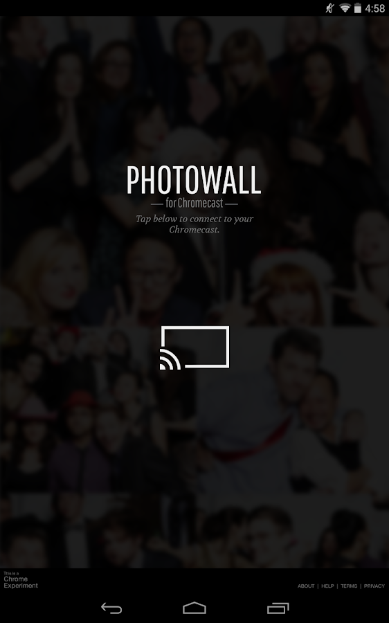 Photowall for Chromecast- screenshot