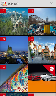 TOP 100 - Germany's sights - screenshot thumbnail