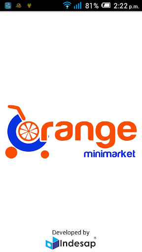 Orange Minimarket