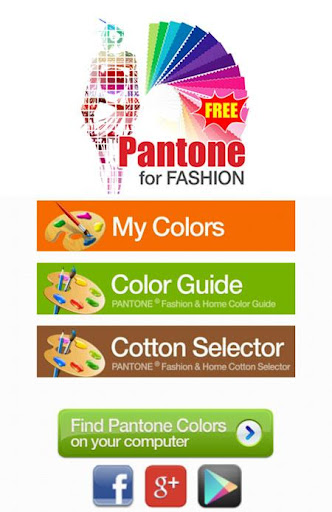 Pantone for Fashion