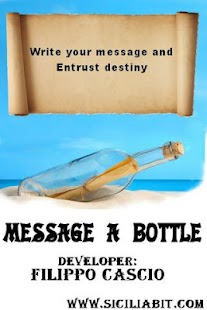 message in a bottle chat - screenshot thumbnail