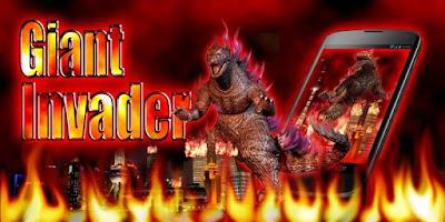 Screenshot of Giant Invader GO Theme