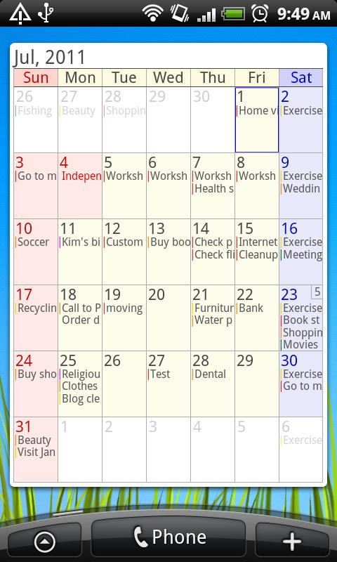 AA Task (Schedule & Memo) - screenshot