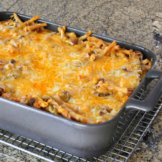 Easy Macaroni and Beef Casserole