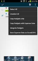 Screenshot of YouBudget (budget manager)