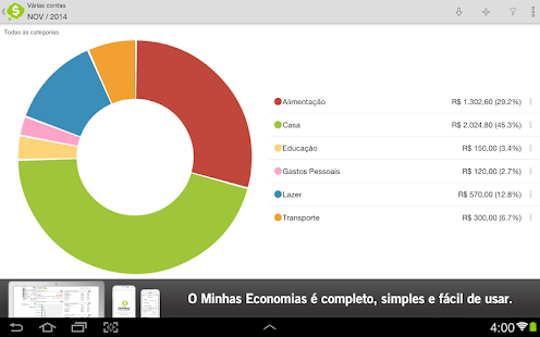 Minhas Economias- screenshot thumbnail