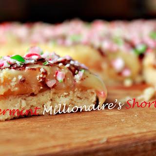 Peppermint Millionaires' Shortbread