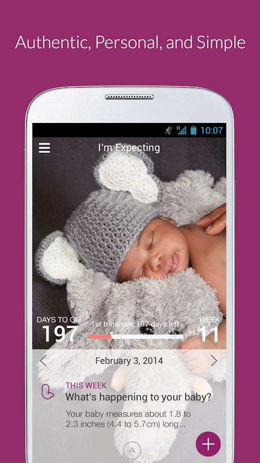 I'm Expecting - Pregnancy App - screenshot