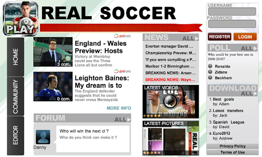Real Soccer 2012 - screenshot thumbnail