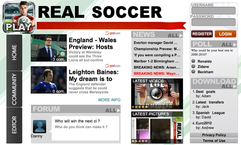 Real Soccer 2012 screenshot #20