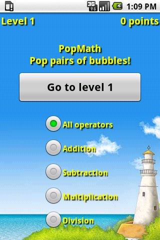 PopMath Lite- screenshot