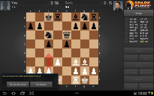 SparkChess HD - screenshot thumbnail