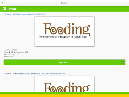 Fooding Project- miniatura screenshot