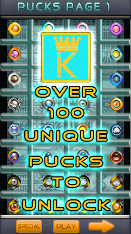 Screenshots for Puck King