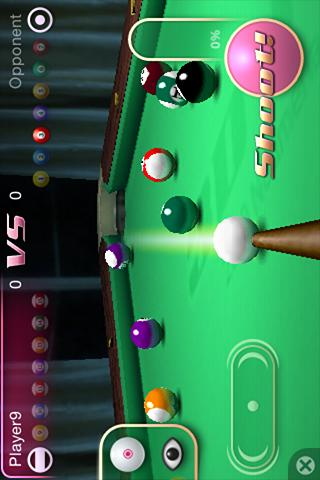 3D Pool Master Deluxe - screenshot