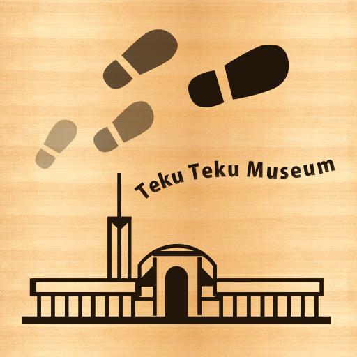 福岡市博物館公式アプリ てくてくミュージアム LOGO-APP點子