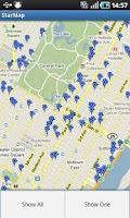 Screenshot of New York Star Map