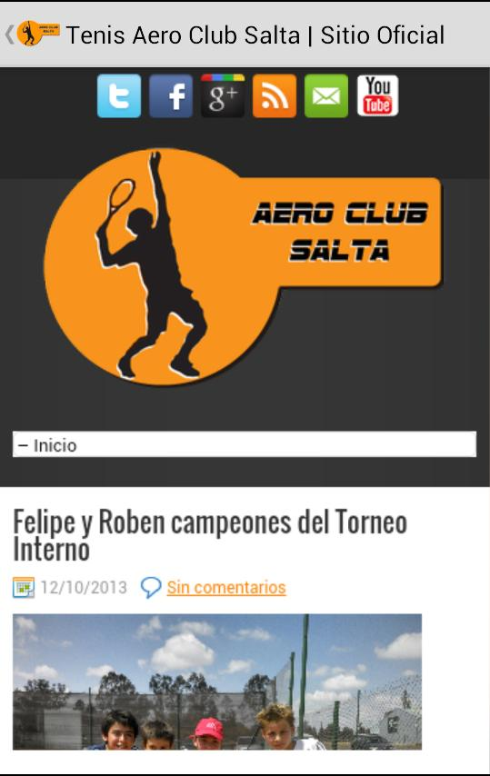 Tenis Aero Club Salta- screenshot