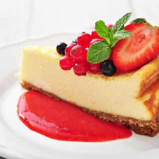 Strawberry Cheesecake.