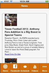 Texas College Football - screenshot thumbnail