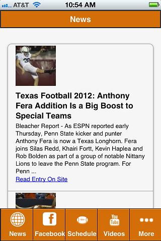 Texas Football - screenshot