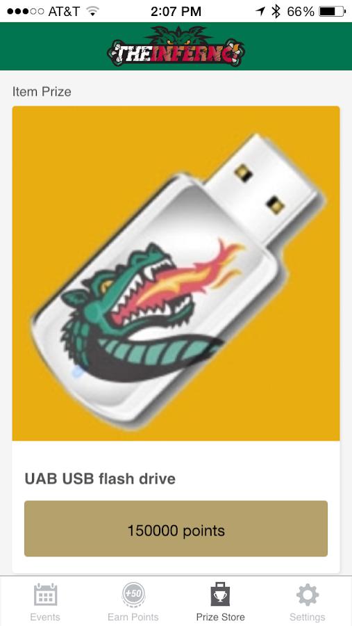 UAB Fanatics- screenshot