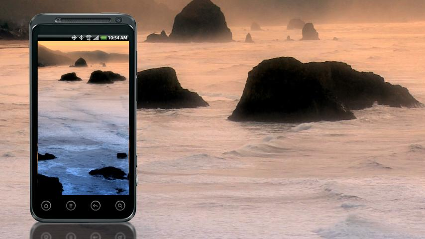 Coastal Beach LWP HD- screenshot