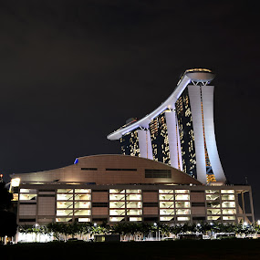Marina Bay Sands Singapore. by Kester Kiew - Novices Only Landscapes