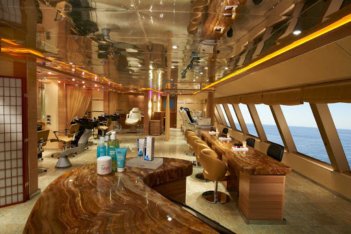 Carnival-Magic-Spa - On your next Carnival Magic cruise, make an appointment to get pampered at Cloud 9 Spa.