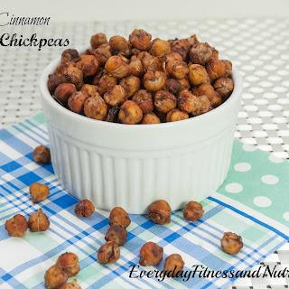 Cinnamon and Maple Roasted Chickpeas