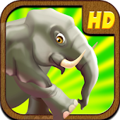 A Elephant Safari Run PRO