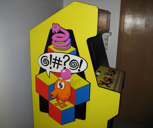 My Arcade Cabinet Q Bert Inspired