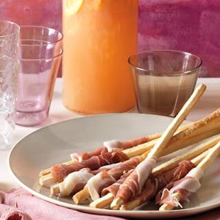 Prosciutto-Wrapped Breadsticks