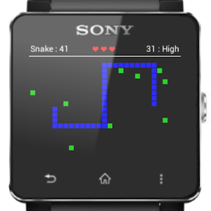 SmartWatch 2 Snake for PC and MAC