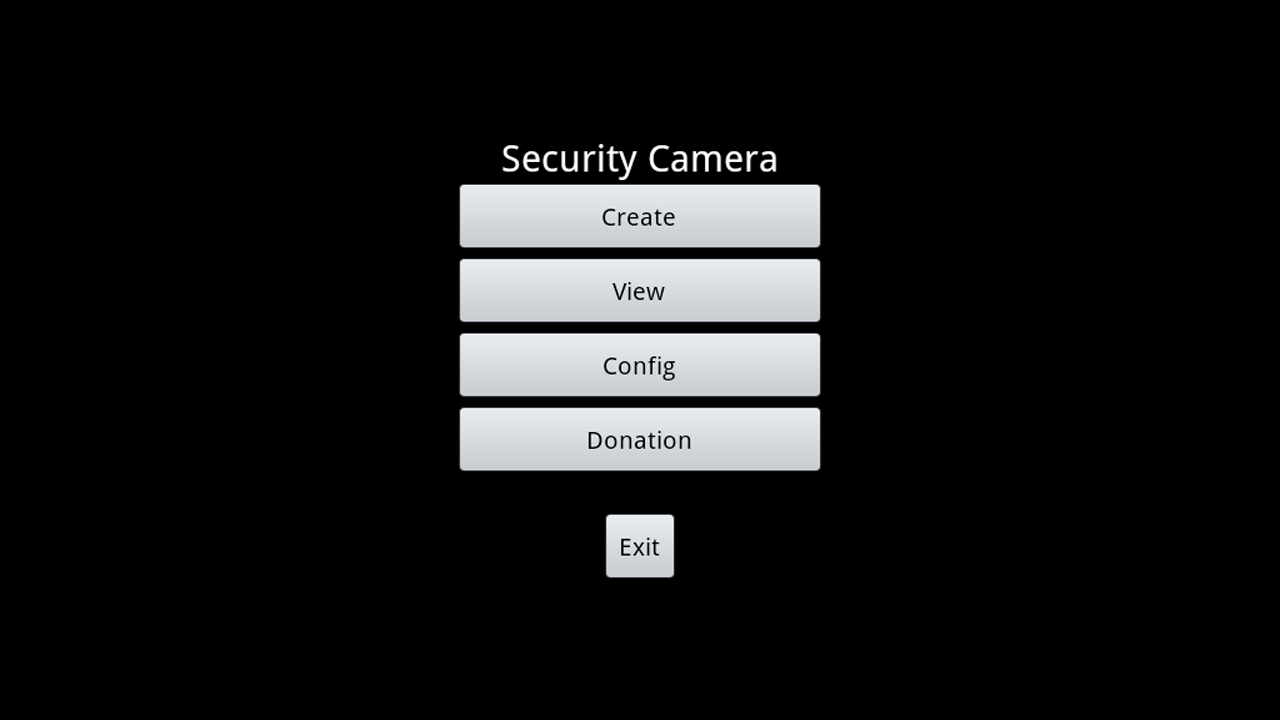 MotionDetection SecurityCamera - screenshot