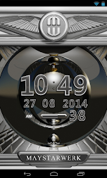Digi Clock Widget Platinum APK screenshot thumbnail 2
