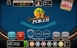 Screenshot of Caribbean Stud Poker