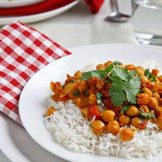 Chickpea Curry (Chana Masala).