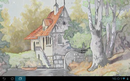 Watermill - HD Live Wallpaper