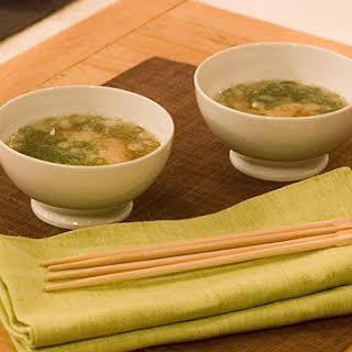 Nobu's Miso Soup.