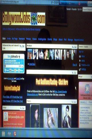 BollywoodJobs.com Film Jobs- screenshot