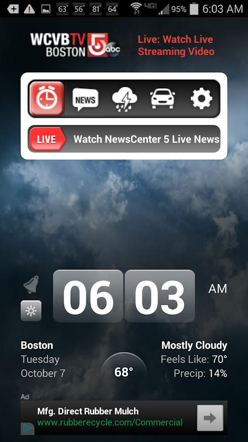 Alarm Clock WCVB Ch 5 Boston - screenshot